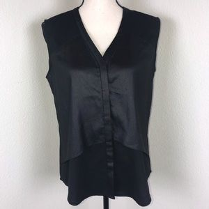 Trouve Black Sleeveless Top Size M